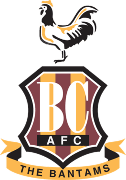 Bradford City FC - Football HQ - scores and games - club badge and logo