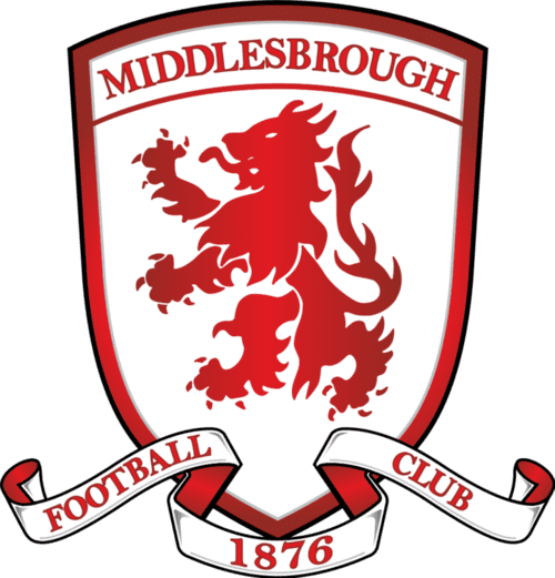 Middlesbrough FC - Football Fan Base - scores, games and league position - club badge