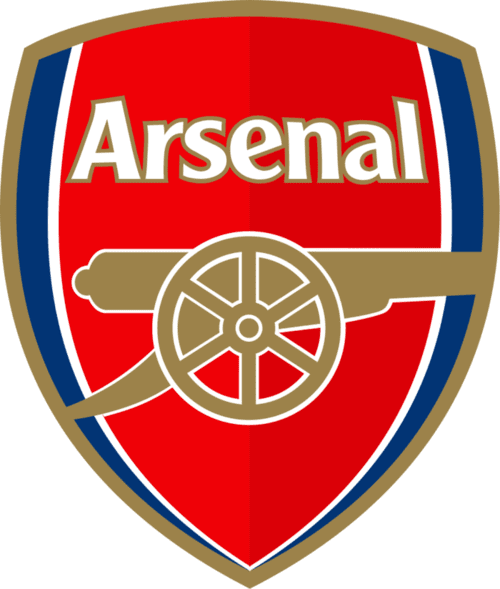 Arsenal FC Football Club badge and logo in HQ