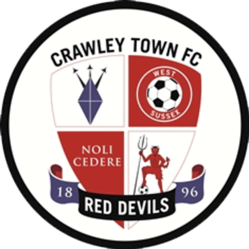 Crawley Town FC - Football Fan Base - scores and games - club badge and logo - make your own supporters blog here