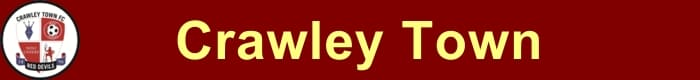 Crawley Town FC - Football HQ - results, fixtures and league table - create a footy blog here