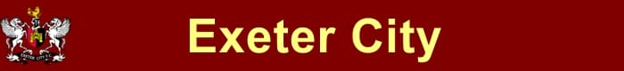 Exeter City FC - Football HQ - results, fixtures and league table - make a soccer website here