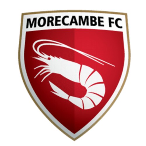 Morecambe FC - Football Fan Base - club badge and logo - scores and games - create your own footy blog here