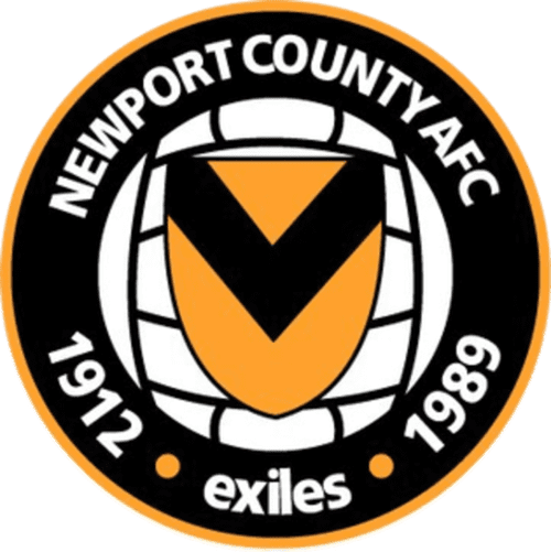Newport County FC - club badge and logo - Football Fan Base - scores and games - create a soccer website here