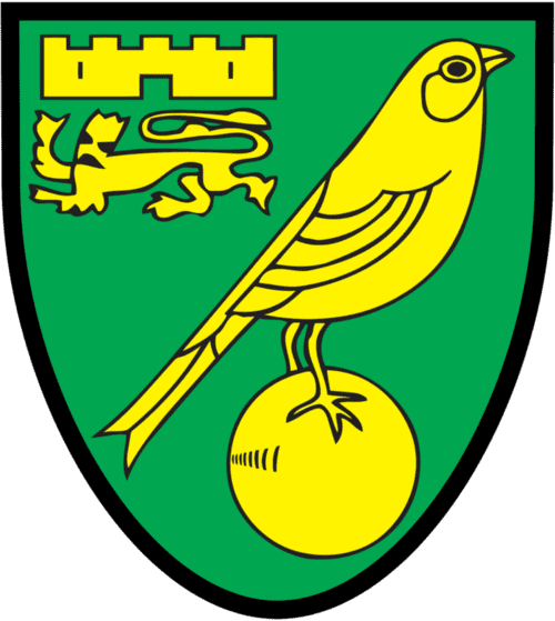 Norwich City FC - scores, games and league tables - club crest and logo