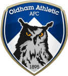 Oldham Athletic AFC - Football Headquarters - club badge and logo - join the soccer message boards
