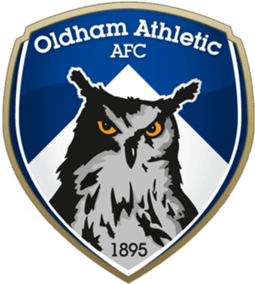Oldham Athletic AFC - Football Fan Base - club badge and logo - join the soccer message boards