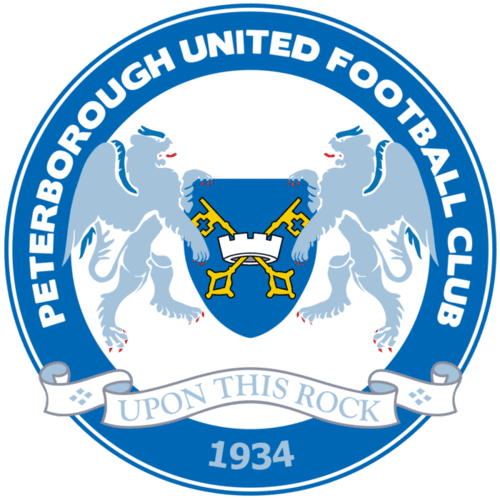 Peterborough United FC - Football Fan Base - club badge and logo - submit a footy post today