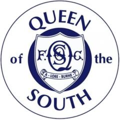 Queen of the South FC - Football HQ - scores and games - club badge and logo - create your own footy blog