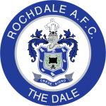 Rochdale FC - Football HQ - club badge and logo - create a footy supporters blog here