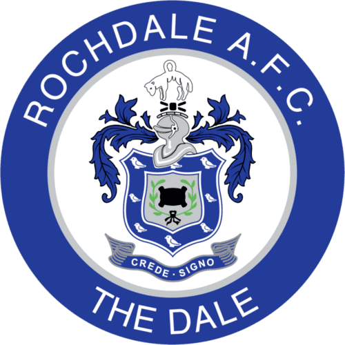Rochdale FC - Football Fan Base - club badge and logo - create a footy supporters blog here