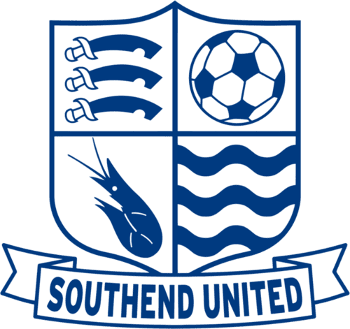Southend United FC - Football HQ - scores and games -club badge and logo - create a footy website today