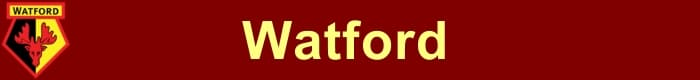 Watford FC - Football Fan Base - results, fixtures and league tables - create a fans blog here