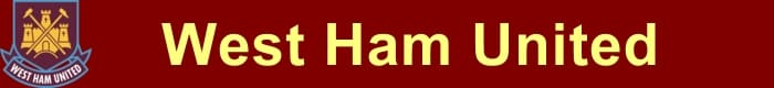 West Ham United FC - Football HQ - results, fixtures and league table - promote your team here