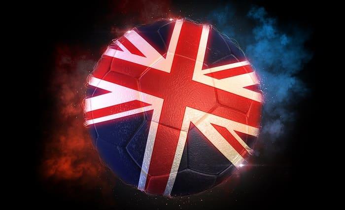 Union Jack Football - soccer UK - British club badges and logos