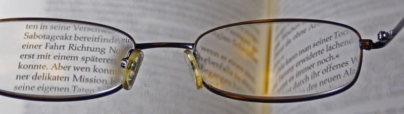 Correction form - glasses can help!